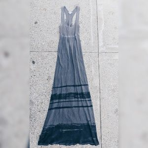 JAMES PERSE	Grey Maxi Dress